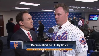 Jay Bruce News Conference 2017 Video
