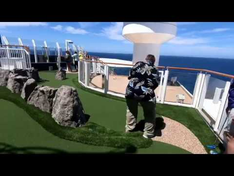 They Added Mini Golf on Norwegian Bliss!