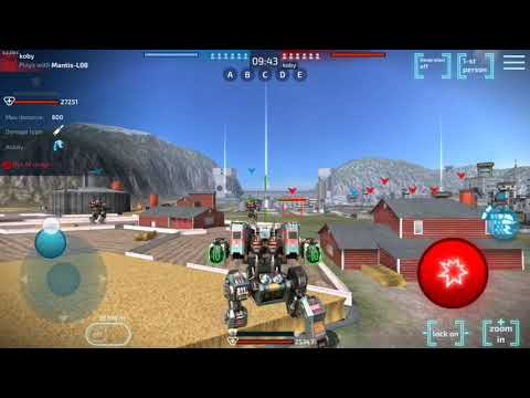 ROBOT WARFARE ONE OF MY FAVOURITE GAMES