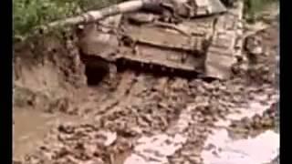 Танки грязи боятся тоже! Т-90 и грязь.mp4