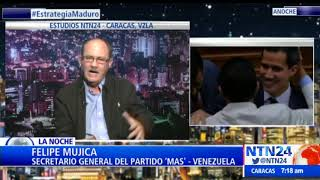 """""""¡Tú eres un homosexual!"""" Felipe Mujica a Gustavo Tovar por criticar su pacto con régimen de Maduro"""
