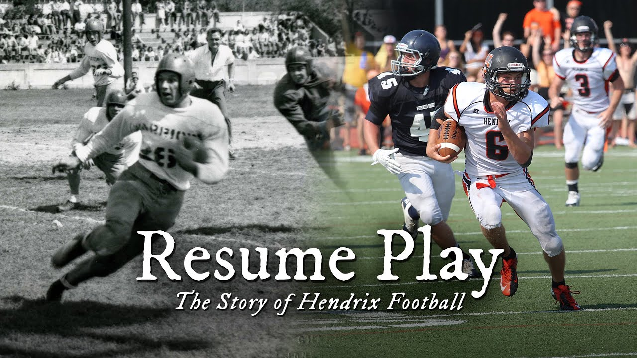 resume play the story of hendrix football youtube