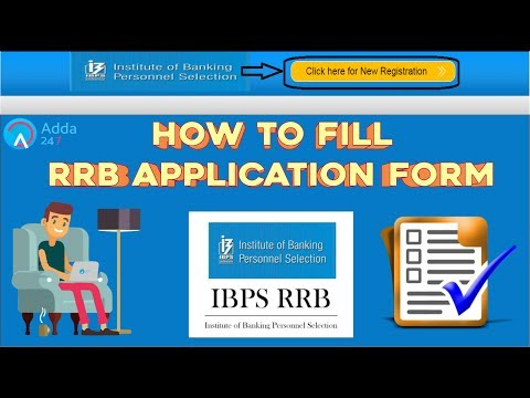 How To Fill RRB Application Form | Online Coaching for SBI IBPS Bank PO