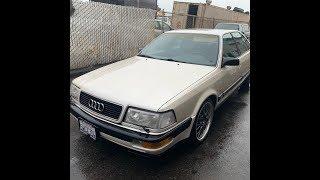 Audi V8 !!! Американка , Обзор !