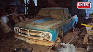 Download BARN FIND RESURRECTION | 1967 GMC Shortbed Truck Mp3 and Videos