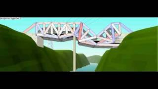West Point Bridge Designer Glitch Bridge