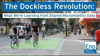 The Dockless Revolution: What We're Learning from Shared Micromobility Data