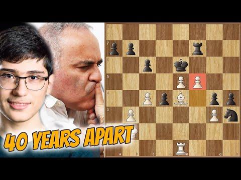 The Beast Returns, Again! || Firouzja vs Kasparov || Champions Showdown: Chess9LX (2020)