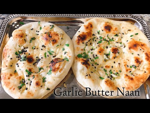garlic-naan-|-easy-garlic-flatbread-|-garlic-naan-bread-recipe-|-homemade-garlic-bread-w/o-oven