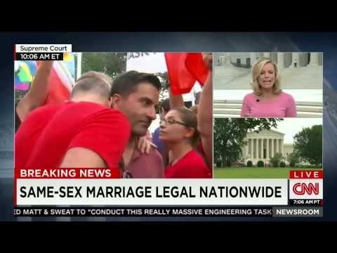 The moment CNN reported same sex was legal nationwide