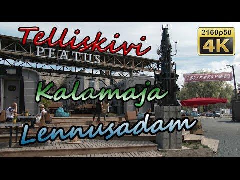 Telliskivi, Kalamaja and Lennusadam in Tallinn - Estonia 4K Travel Channel