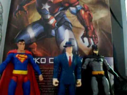 DC infinite crisis vs MARVEL universe (3 3/4 inch figure comparison)