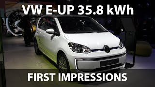 Volkswagen e-Up 35.8 kWh first impressions