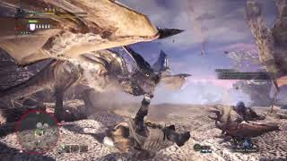 [Monster Hunter World] Solo Charge Blade vs Tempered Legiana 6'05''31