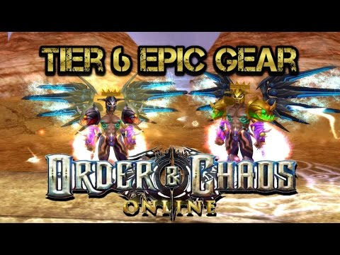 Order And Chaos Online - Epic Tier 6 Gear - Warrior