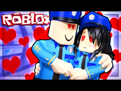 POLICE OFFICERS GO ONLINE DATING IN ROBLOX!