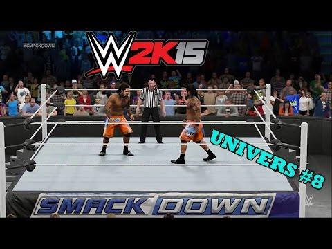 WWE 2K15 Univers Mode #8 - Frère vs Frère