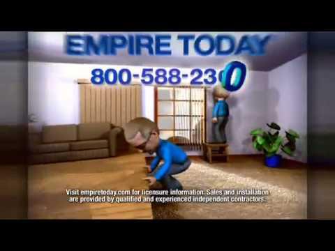 "Empire Today: 50/50/50 ""Biggest"" Carpet and Flooring Sale TV ..."