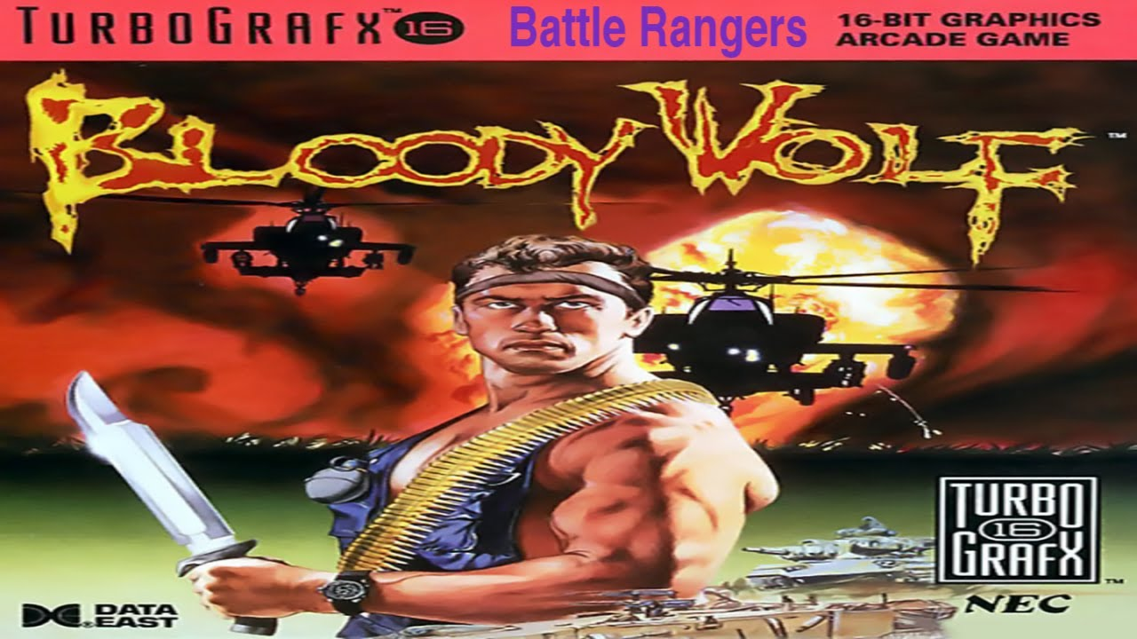 BATTLE RANGERS 1988 [31] Arcade Longplay   Mame   Gaming