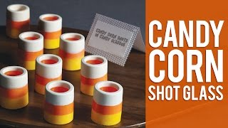 How To Make Candy Corn Shot Glasses