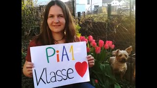 Ostergrüße der PiA1-Klasse an der #BotnangerFachschule