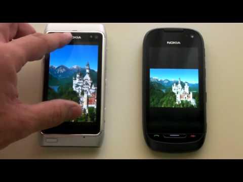 Nokia 701 vs Nokia N8 Display comparison.mp4