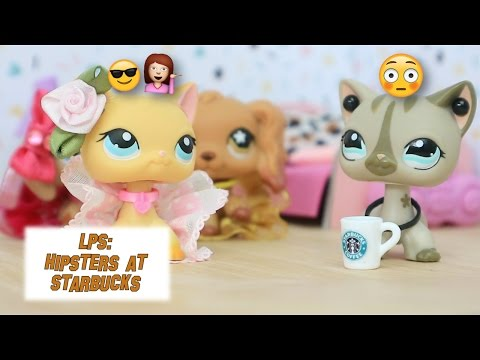 LPS: Hipsters at Starbucks - Episode #3 (Sophie's Sleepover Party)
