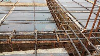 Reinforcement details for slab column beam 20 × 36 house face