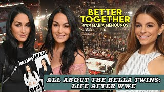 Bellas Twins On Post WWE Life, Pregnancy, & Their New Memoir INCOMPARABLE | Maria Menounos