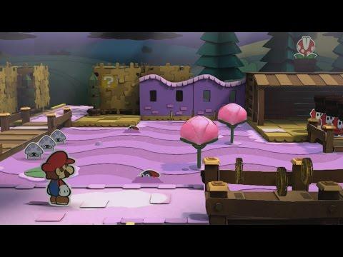 Plum Park (Mini Star 1) - Paper Mario: Color Splash Walkthrough