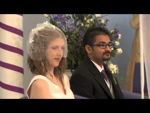 John and Amy Ainsworth's wedding