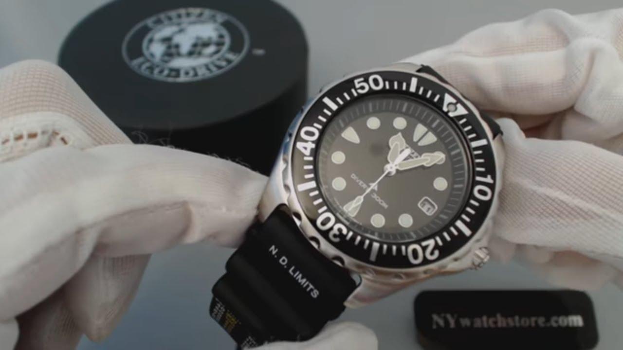 Men's Citizen Eco Drive Promaster Diver Watch BN0000