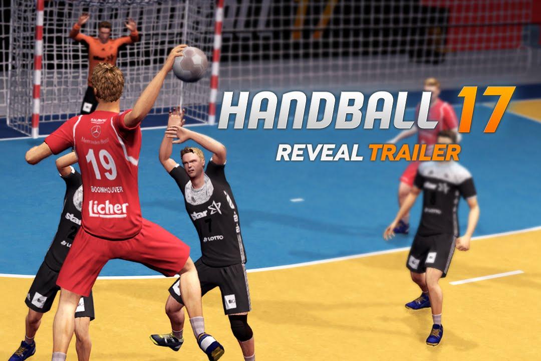 Handball 17 Reveal Trailer Youtube