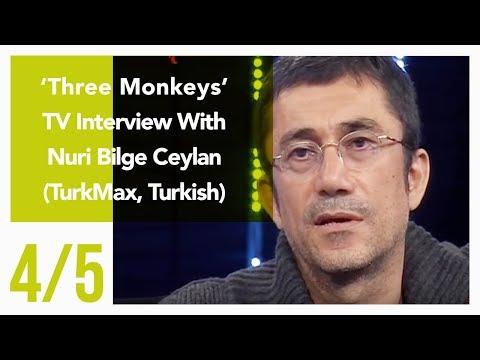 Three Monkeys - TV Interview With Nuri Bilge Ceylan 4/5 (TurkMax, Turkish)