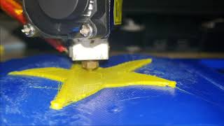 Conformal 3D Printing - Vanderbilt Star on z=sin(x)