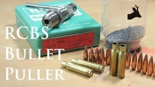 How to disassemble live ammunition with RCBS bullet puller: RoeStalker's tutorial
