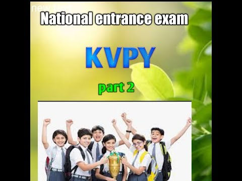 kvpy exam dates part 2 video in tamil