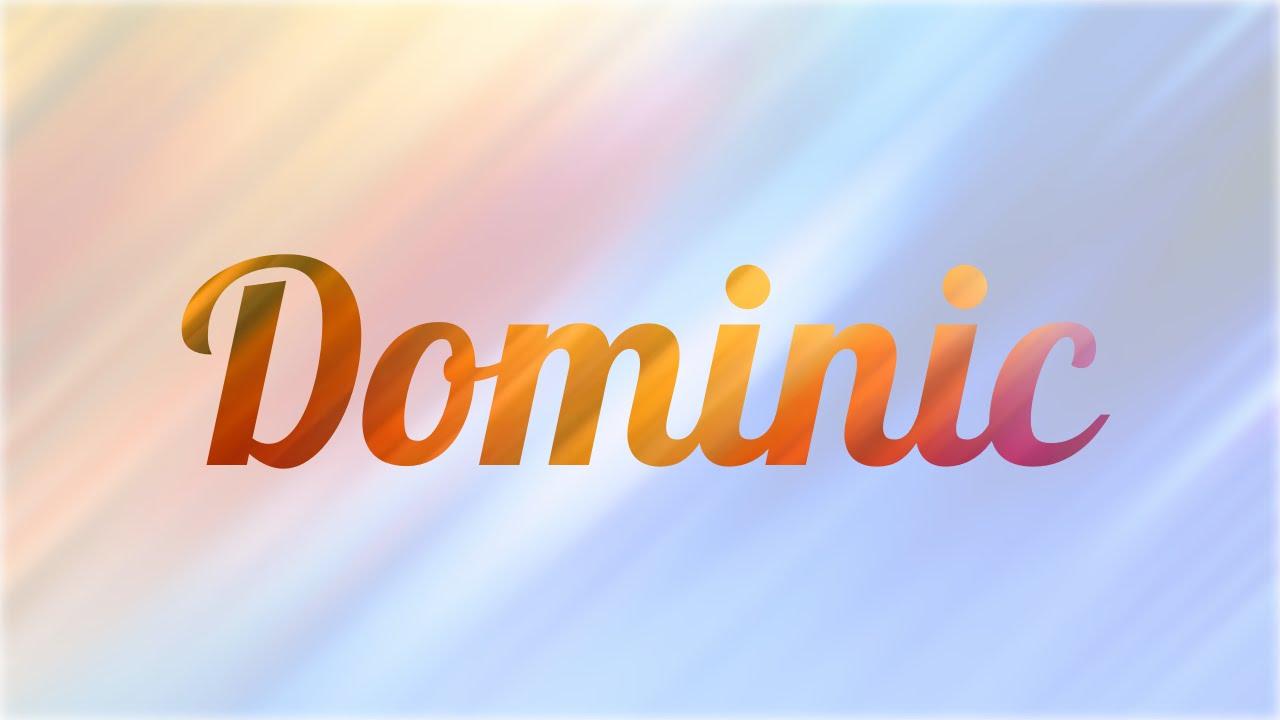 Significado De Dominic Nombre Ingl S Para Tu Bebe Ni O O
