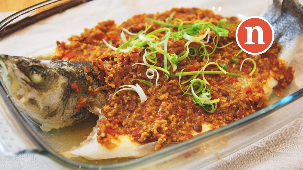 Steamed Fish with Fermented Bean Paste | Steamed Fish with Taucu [Nyonya  Cooking]