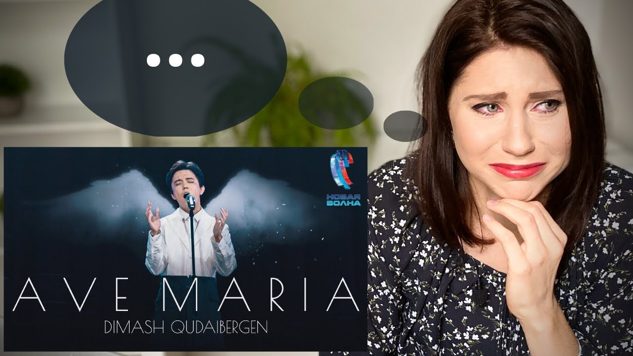 Stage Performance coach reacts to Dimash 'Ave Maria'