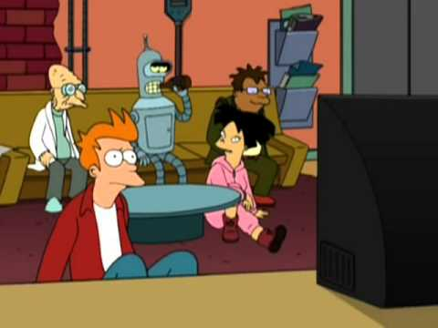 Futurama - Bender finds out Fry's name