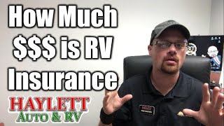 How much is RV Insurance with Josh the RV Nerd