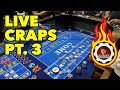 CRAPS! BIGGER BETS! BIGGER WINS!! AWESOME RUN!!! - YouTube