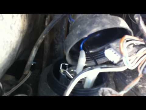Замена лампочки ближнего света на BMW x5 e53