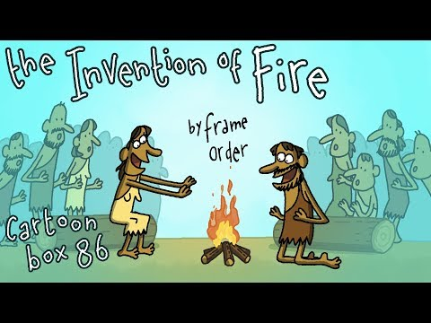 The Invention of Fire   Cartoon Box 86