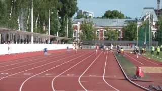 Чемпионат Москвы 2015 - 200м (жен) 3 забег (Харламова)