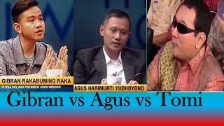 Gibran vs Agus vs Tomi (Gaya Anak-Anak Presiden RI)