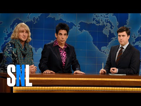 Derek Zoolander & Hansel (Weekend Update) - SNL