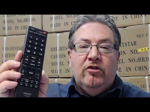 General Remote Replacement Control For Toshiba 32AV502R 32AV502RZ 32AV502U 32C120U CT90302 REGZA Plasma LCD LED HDTV TV