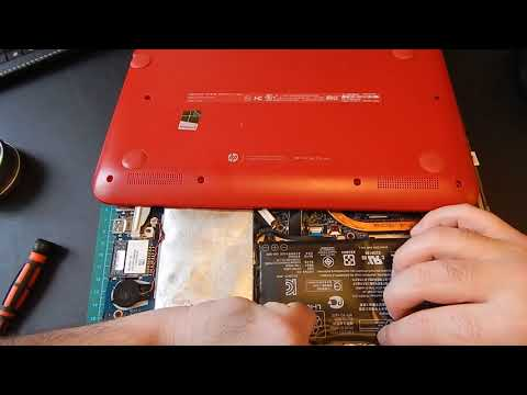 HP Pavilion x360 taking out swollen battery!!!